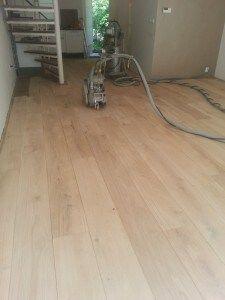 Stap 4 Parket aanhelen - Floortec vloerreparatie