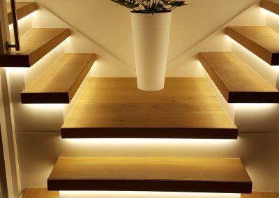 houten traprenovatie licht