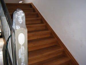 renovatie aan de trap