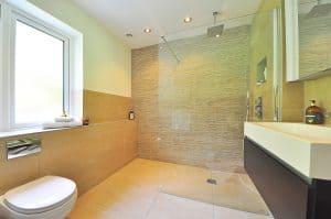 badkamer vloer glans