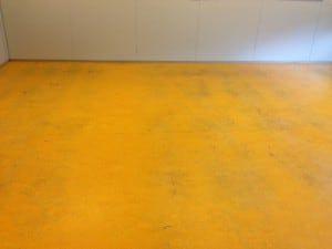 Linoleum voor de schoonmaak