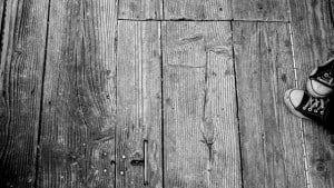 houten vloer reinigen