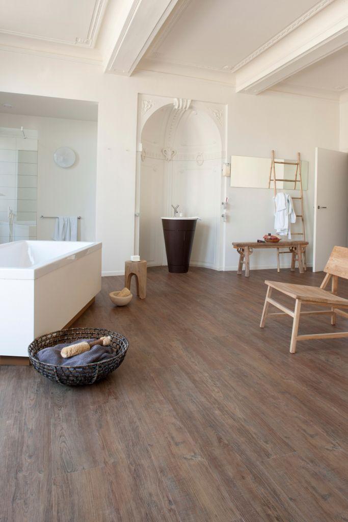 badkamer vloer pvc houtlook